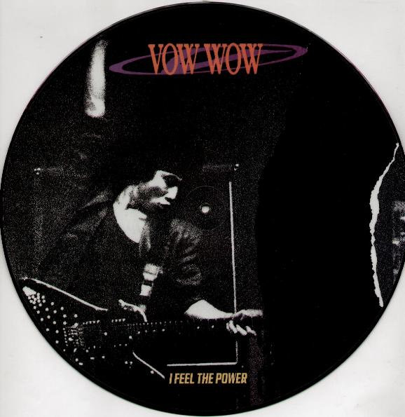 VOW WOW - I FEEL THE POWER (PICTURE DISC) LP   No Remorse Records 6fde488ef5