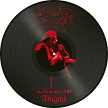 KING DIAMOND - ABIGAIL IN CONCERT 1987 (LTD EDITION 2000 COPIES PICTURE DISC) LP (NEW)