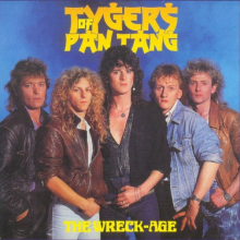 TYGERS OF PAN TANG - THE WRECK AGE (JAPAN EDITION +OBI) LP
