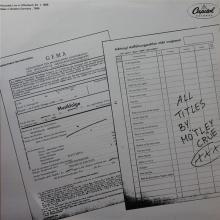 MOTLEY CRUE - THEATRE OF PAIN TOUR - LIVE IN OFFENBACH '86 2LP