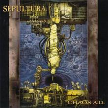 SEPULTURA - CHAOS A.D. (180 GRAM BLACK VINYL, INCL. BONUS LP OF RARE & UNRELEASED DEMOS AND LIVE TRACKS, GATEFOLD) 2LP (NEW)