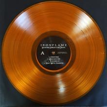 IRONFLAME - LIGHTNING STRIKES THE CROWN (LTD EDITION 300 HAND-NUMBERED COPIES, ORANGE VINYL) LP (NEW)