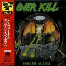 OVERKILL - UNDER THE INFLUENCE (JAPAN EDITION +OBI) CD
