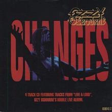 OZZY OSBOURNE - CHANGES (4 TRACKS) CD'S