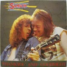SAMSON - THANK YOU AND GOODNIGHT LP