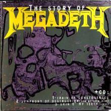 MEGADETH - THE STORY OF MEGADETH (DIGI PACK +BOOKLET) CD