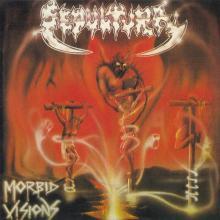 SEPULTURA - MORBID VISIONS/BESTIAL DEVASTATION (GOLD DISC) CD