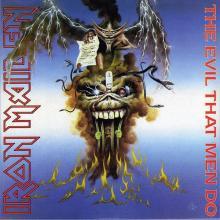 IRON MAIDEN - THE EVIL THAT MEN DO CD'S