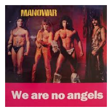 MANOWAR - WE ARE NO ANGELS (HAMMERSMITH ODEON '85) LP