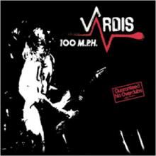 VARDIS - 100 M.P.H (JAPAN EDITION +OBI) LP