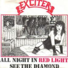 EXCITER - ALL NIGHT IN RED LIGHT/SEE THE DIAMOND 7
