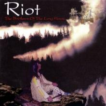 RIOT - THE BRETHREN OF THE LONG HOUSE (LTD NUMBERED EDITION 300 COPIES CLEAR/SALMON-PINK VINYL, +BONUS TRACK & 2-SIDED POSTER, GATEFOLD) 2LP (NEW)