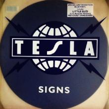 TESLA - SIGNS (LIM.EDIT BLUE VINYL) 12