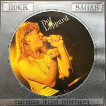 DEF LEPPARD - CHRIS TETLEY INTERVIEW (PIC.DISC) - LP