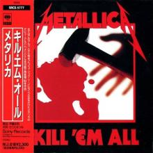 METALLICA - KILL EM ALL (JAPAN EDITION +OBI) CD