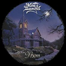 KING DIAMOND - THEM (FIRST EDITION PICTURE DISC) LP