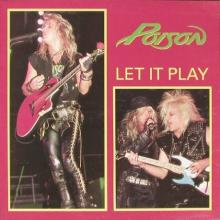 POISON - LET IT PLAY(STOCHOLM