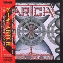 ARTCH - FOR THE SAKE OF MANKIND (JAPAN EDITION +OBI) CD