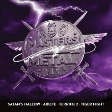 V/A - MASTERS OF METAL VOLUME 5 (SATAN'S HALLOW, ARIETE, TERRIFIER, TIGER FIGHT) CD (NEW)