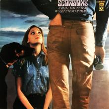 SCORPIONS - ANIMAL MAGNETISM - MAGNETISMO ANIMAL (SPANISH EDITION) LP