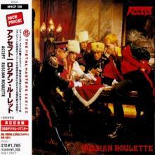 ACCEPT - RUSSIAN ROULETTE (JAPAN EDITION +OBI) CD