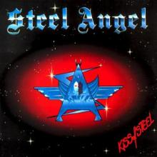 STEEL ANGEL - KISS OF STEEL LP
