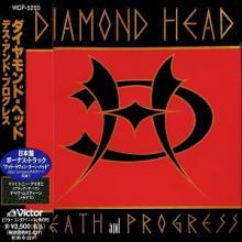 DIAMOND HEAD - DEATH AND PROGRESS (JAPAN EDITION +OBI) CD