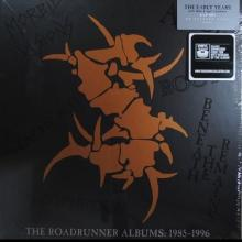 SEPULTURA - THE ROADRUNNER ALBUMS: 1985-1996 (COLOURED VINYLS) 6LP BOX SET (NEW)