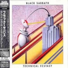 BLACK SABBATH - TECHNICAL ECSTASY (JAPAN EDITION +OBI, PROMO COPY) CD