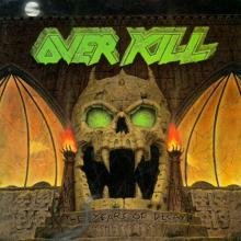 OVERKILL - THE YEARS OF DECAY (FIRST U.S.A. EDITION) CD