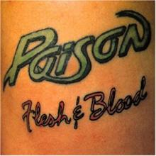 POISON - FLESH & BLOOD (JAPAN EDITION+OBI) CD