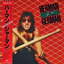 HERMAN ZE GERMAN AND FRIENDS - SAME (JAPAN EDITION +OBI) LP