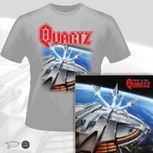 QUARTZ - AGAINST ALL ODDS (LTD EDITION 100 COPIES + T-SHIRT) CD/T-SHIRT SIZE: XL (NEW)