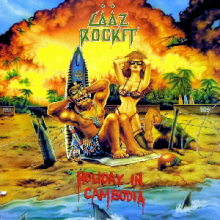 LAAZ ROCKIT - HOLIDAY IN CAMBODIA EP (USA EDITION) LP