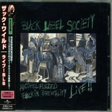 BLACK LABEL SOCIETY - ALCOHOL FUELED BREWTALITY LIVE (JAPAN EDITION + OBI) CD