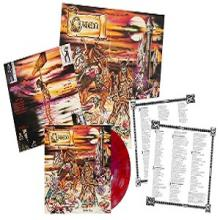 OMEN - BATTLE CRY (LTD HAND-NUMBERED EDITION 200 COPIES OPAQUE RED/PURPLE SPLATTER VINYL +LYRIC/PHOTO INSERT & LARGE POSTER) LP (NEW)