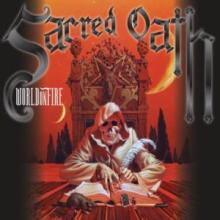 SACRED OATH - WORLD ON FIRE (LTD EDITION 400 COPIES NUMBERED BLACK VINYL, GATEFOLD +POSTER) 2LP (NEW)