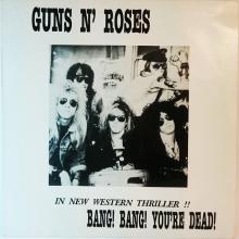 GUNS 'N' ROSES - IN NEW WESTERN THRILLER LP