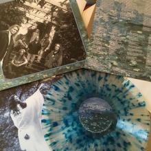 THE GATHERING - ALMOST A DANCE (LTD HAND-NUMBERED EDITION 399 COPIES CLEAR/BLUE SPLATTER VINYL) LP (NEW)