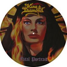 KING DIAMOND - FATAL PORTRAIT (LTD EDITION 2000 COPIES PICTURE DISC) LP (NEW)