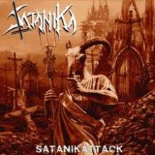 SATANIKA - SATANIKATTACK (LTD NUMBERED EDITION 525 COPIES, GATEFOLD +POSTER) LP (NEW)