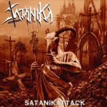 SATANIKA - SATANIKATTACK (LTD NUMBERED EDITION 525 COPIES, GATEFOLD +POSTER) LP (NEW)