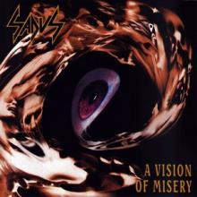 SADUS - A VISION OF MISERY (LTD EDITION 500 COPIES BLACK VINYL) LP (NEW)