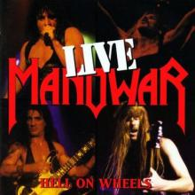 MANOWAR - HELL ON WHEELS - LIVE (FIRST EDITION) 2CD