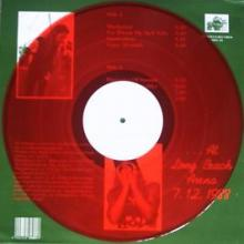 METALLICA - CAUGHT IN THE ACT... (LIVE AT LONG BEACH ARENA '88, RED VINYL) LP