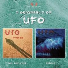 UFO - YOU ARE HERE / SHARKS (2CD BOX SET) 2CD (NEW)
