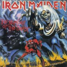 IRON MAIDEN - THE NUMBER OF THE BEAST (FIRST U.S.A EDITION) CD