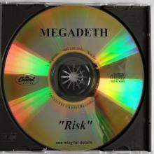 MEGADETH - RISK (PROMO) CD
