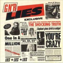 GUNS N' ROSES - LIES (JAPAN EDITION+OBI) CD