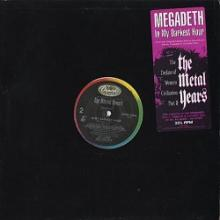 MEGADETH - IN MY DARKEST HOUR (PROMO) LP